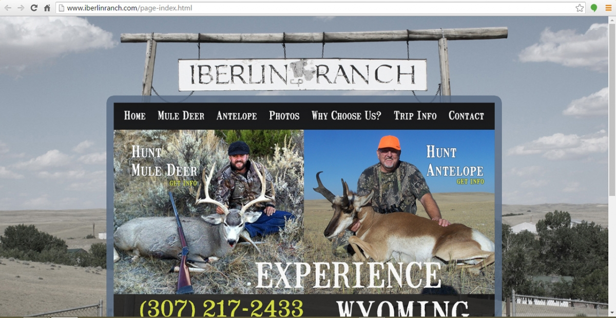 Midwest, Wyoming Hunting Web Design