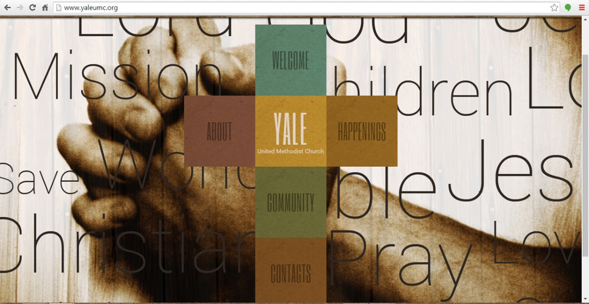 Yale, Michigan Church Web Design