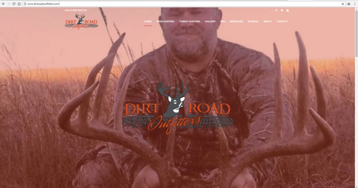 Stafford Kansas Hunting Web Design