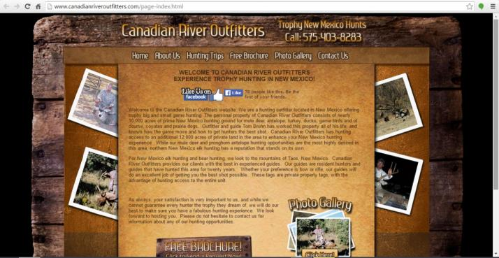 New Mexico Hunting Website