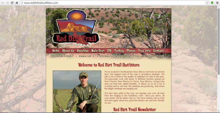 Tucumcari, New Mexico Hunting Website