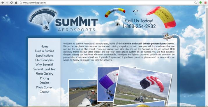Yale, Michigan Aviation Web Design