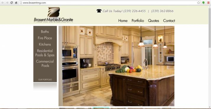 Naples, Florida Contractor Web Design