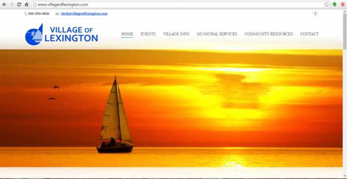 Lexington Chamber Web Design