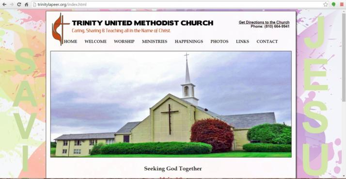 Lapeer, Michigan Church Web Design