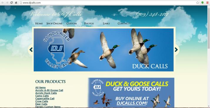 South Pekin, Illinois E-Commerce Web Design