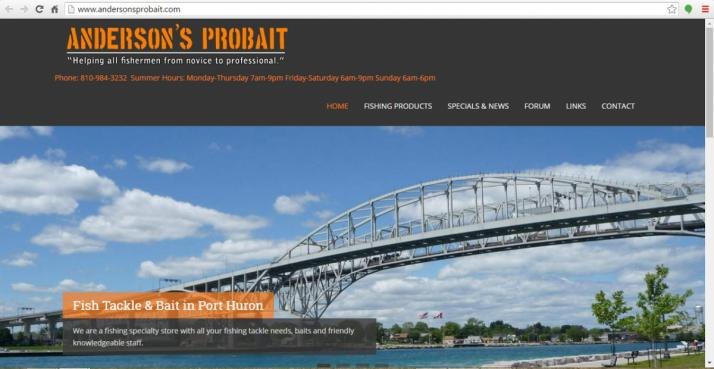 Port Huron, Michigan Retail Web Design