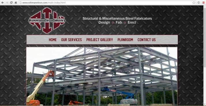 Flint, Michigan Contracting Web Design