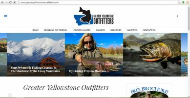 Livingston, Montana Fishing Web Design