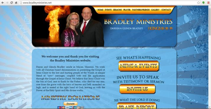 Macon, Missouri Ministries Web Design