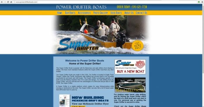 Eagle Point, Oregon Store Web Design