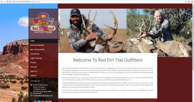 New Mexico Hunting Outfitter Website