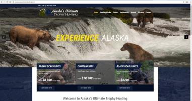 Alaskan Hunting Guide Website