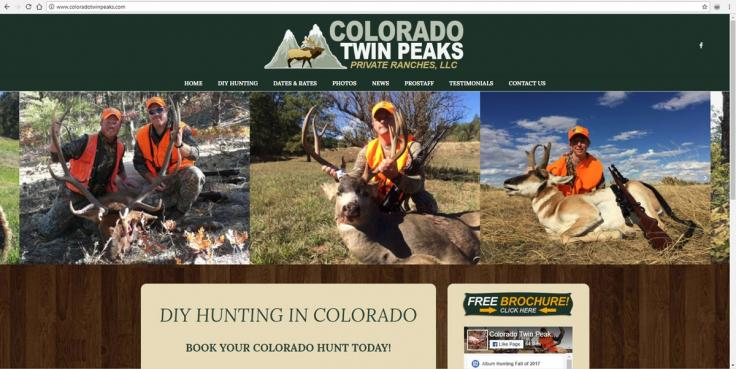Colorado Hunting Web Design