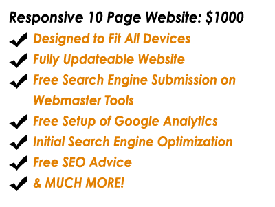 Affordable Website Packages